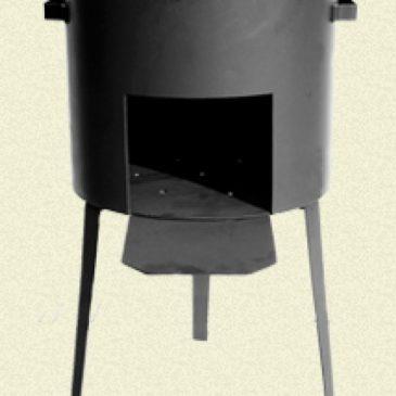 Печка усиленная для казана 50л (Сталь 3мм)